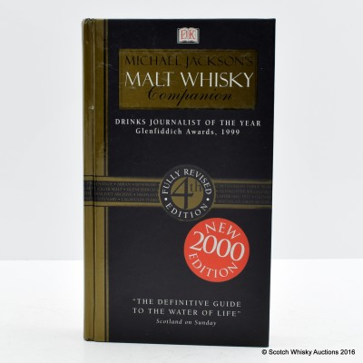 The Malt Whisky Companion by Michael Jackson 4th Edition 2000 (Signed copy)