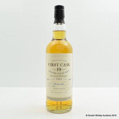 Glenburgie 1995 19 Year Old First Cask