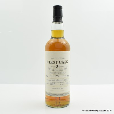 Mortlach 1991 21 Year Old First Cask