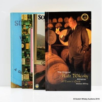 Scotch Whisky: Its Past And Present by David Daiches, Scotch In Miniature by Alan Keegan, The Original Malt Whisky Almanac: A Taster's Guide by Wallace Milroy (7th Ed.), Scotland's Malt Whiskies: A Dram By Dram Guide