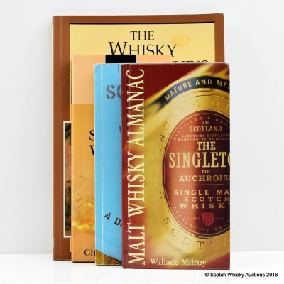Assorted Whisky Literature including Malt Whisky Almanac by Wallace Milroy (5th Ed.)