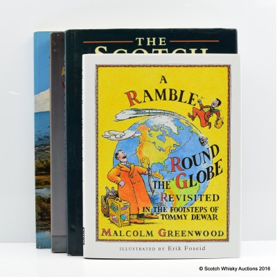 Assorted Whisky Books, Including A Ramble Round The Globe Revisited: In The Footsteps Of Tommy Dewar by Malcolm Greenwood