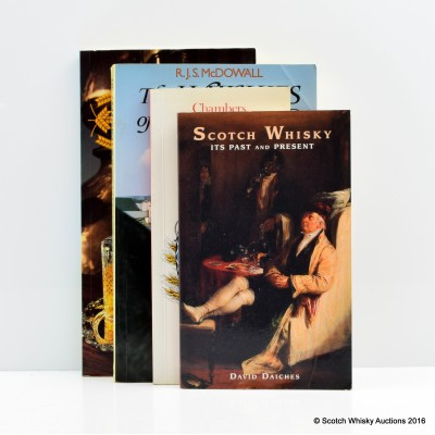 Scotch Whisky: It's Past And Present by David Daiches, Scotch Whisky by Michael Moss, The Whiskies Of Scotland by R.J.S. McDowall, Guide To The Whiskies Of Scotland by Derek Cooper