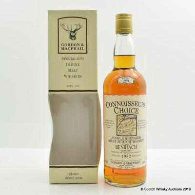 Benriach 1982 Connoisseurs Choice