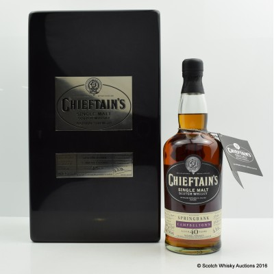 Springbank 1968 40 Year Old Chieftain's