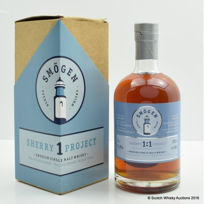 Smögen Sherry Project 1:1 2011 3 Year Old 50cl