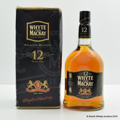 Whyte & Mackay 12 Year Old Premium Reserve