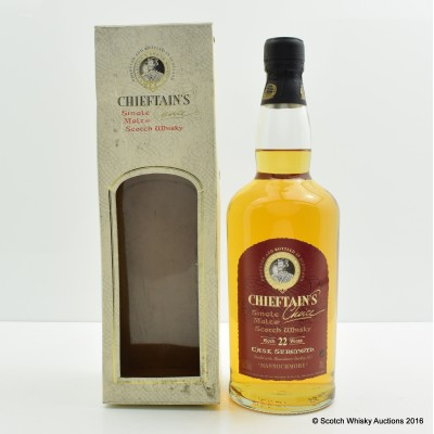Mannochmore 1977 22 Year Old Chieftain's Choice