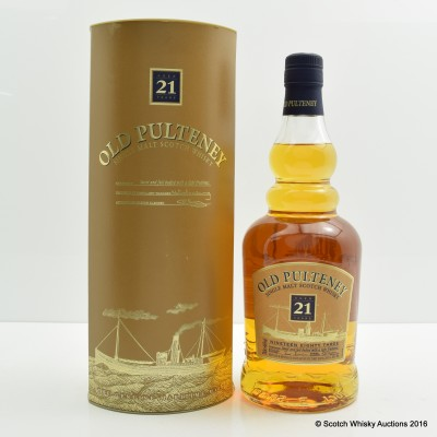 Old Pulteney 21 Year Old Old Style