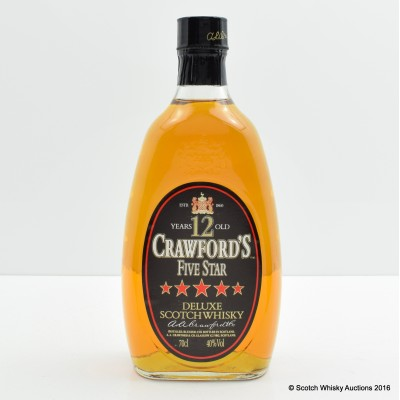 Crawford's 5 Star 12 Year Old