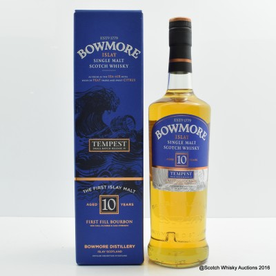 Bowmore Tempest 10 Year Old Small Batch Release #4
