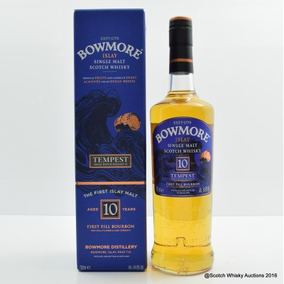 Bowmore Tempest 10 Year Old Small Batch Release #6