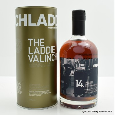 Bruichladdich Valinch 14 David Hope 50cl