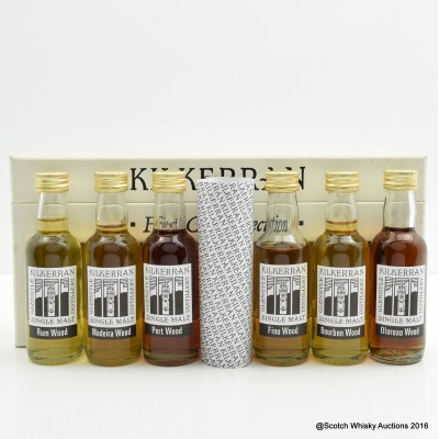 Kilkerran First Cask Selection Minis 6 x 5cl