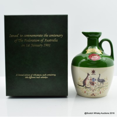 Rutherford's Ceramics 100th Anniversary Of The Federation Of Australia