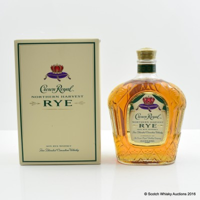 Crown Royal Northern Harvest Rye 75cl