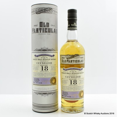 Clynelish 1997 18 Year Old Old Particular