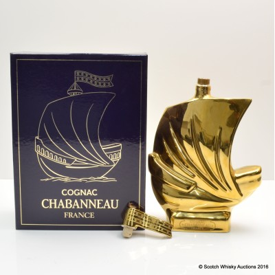 Cognac Chabanneau Ship Decanter