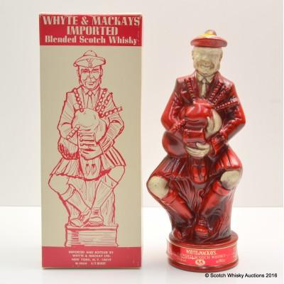 White & Mackay Highland Figurine Decanter 4/5 Quart