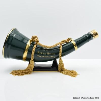 Spirit Of Robyn Hoode Porcelain Hunting Horn