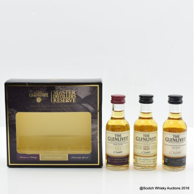 Glenlivet Master Distiller's Reserve Mini Set 3 x 5cl