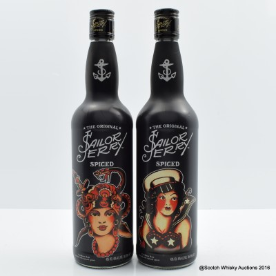 Sailor Jerry Limited Edition 2 x 70cl