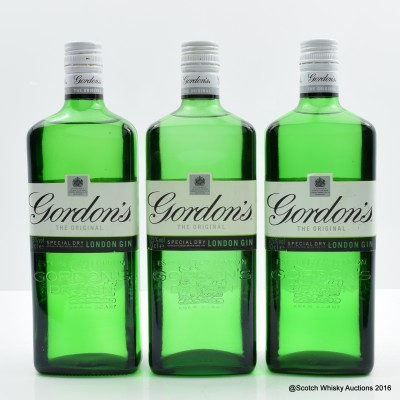 Gordon's Gin 3 x 70cl