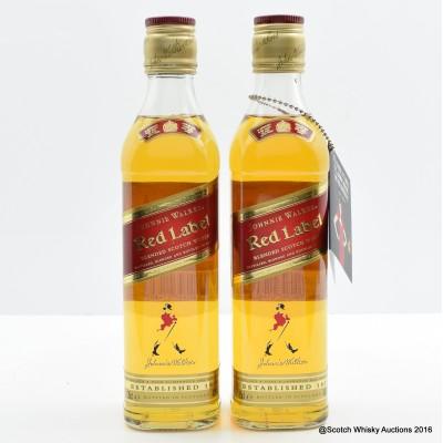 Johnnie Walker Red Label 2 x 35cl