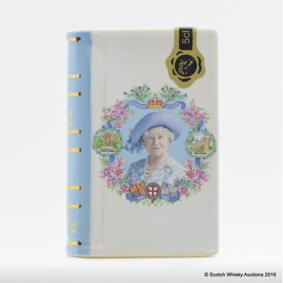 Rutherford's Ceramic Mini Celebrating the Life of The Queen Mother 5cl