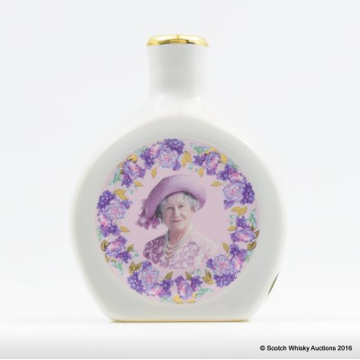 Rutherford's Ceramic Mini Commemorating the Life of Queen Elizabeth 5cl