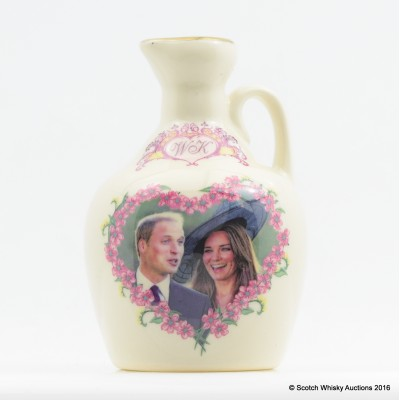 Rutherford's Ceramic Mini Royal Engagement 5cl