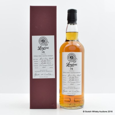 Longrow 2001 14 Year Old Springbank Society Bottling