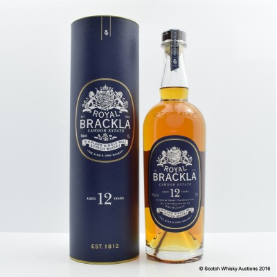 Royal Brackla Cawdor Estate 12 Year Old 1L