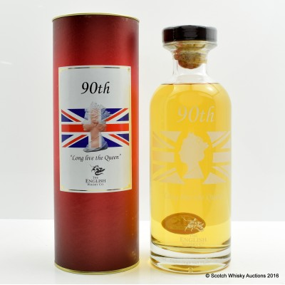English Whisky Company Queen's 90th Birthday