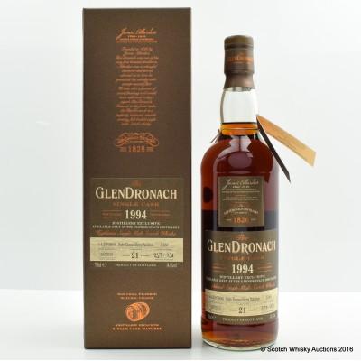 Glendronach 1994 21 Year Old Single Cask Distillery Exclusive