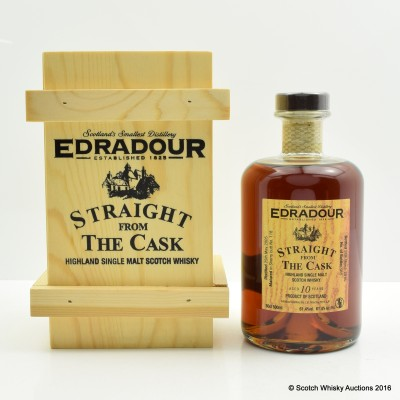 Edradour 2005 10 Year Old Straight From The Cask