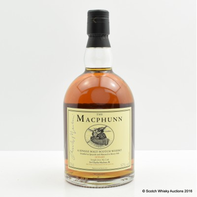 The Macphunn 18 Year Old signed by Charles MacLean