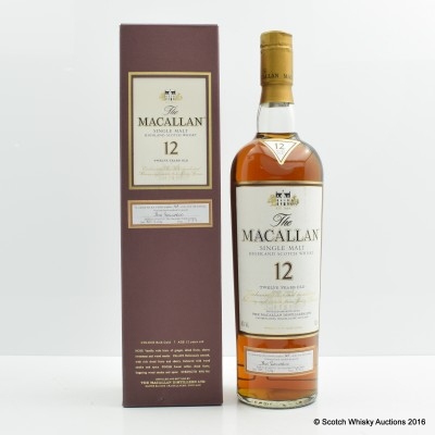 Macallan 12 Year Old - First 100 Bottlings