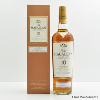 Macallan 10 Year Old - First 100 Bottlings