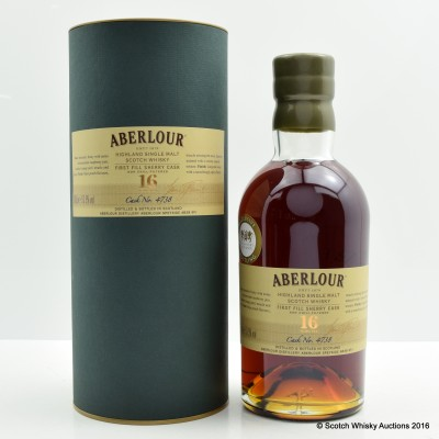 Aberlour 16 Year Old Single Cask Whisky Exchange Bottling
