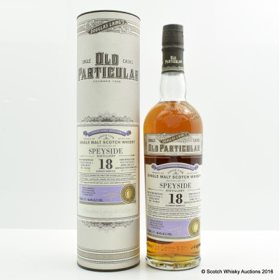 Speyside 1996 18 Year Old Old Particular