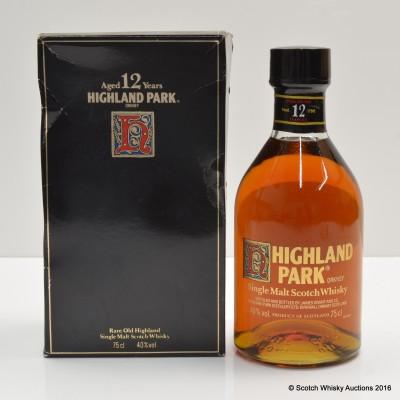 Highland Park 12 Year Old Dumpy Bottle 75cl