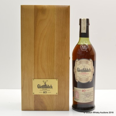 Glenfiddich 40 Year Old Rare Collection 2007 Release