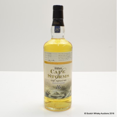 BenRiach 16 Year Old Cape Of Storms 75cl