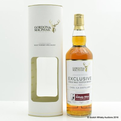 Caol Ila 2006 Gordon & MacPhail For The Whisky Shop In Dufftown