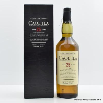 Caol Ila 1979 25 Year Old Cask Strength