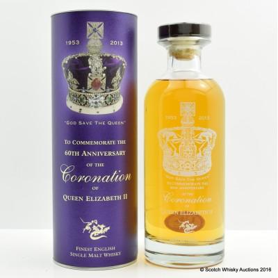 English Whisky Co 60th Anniversary of Coronation of Elizabeth II