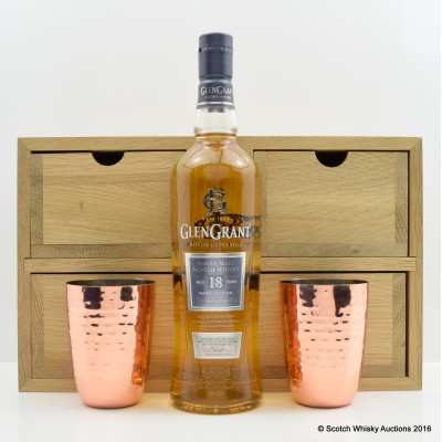 Glen Grant 18 Year Old & Copper Cup Set