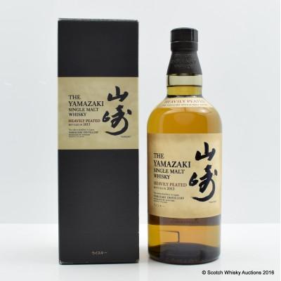 Yamazaki Heavily Peated 2013 Release