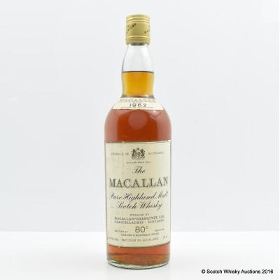 Macallan 1962 26 2/3 Fl Oz
